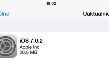 iOS 7.0.2 dostępny do pobrania