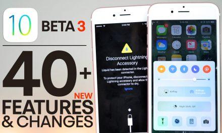 iOS 10 beta 3 zmiany w wersji deweloperskiej