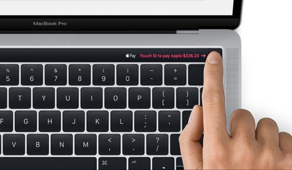 MacBook Pro z Touch ID oraz Magic Toolbar