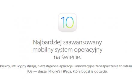iOS 10.2 beta 1 wersja developerska
