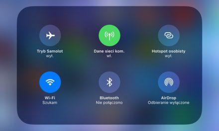 iOS 11 nie pozwala na wyłączenie WiFi i Bluetooth w Centrum Sterownia