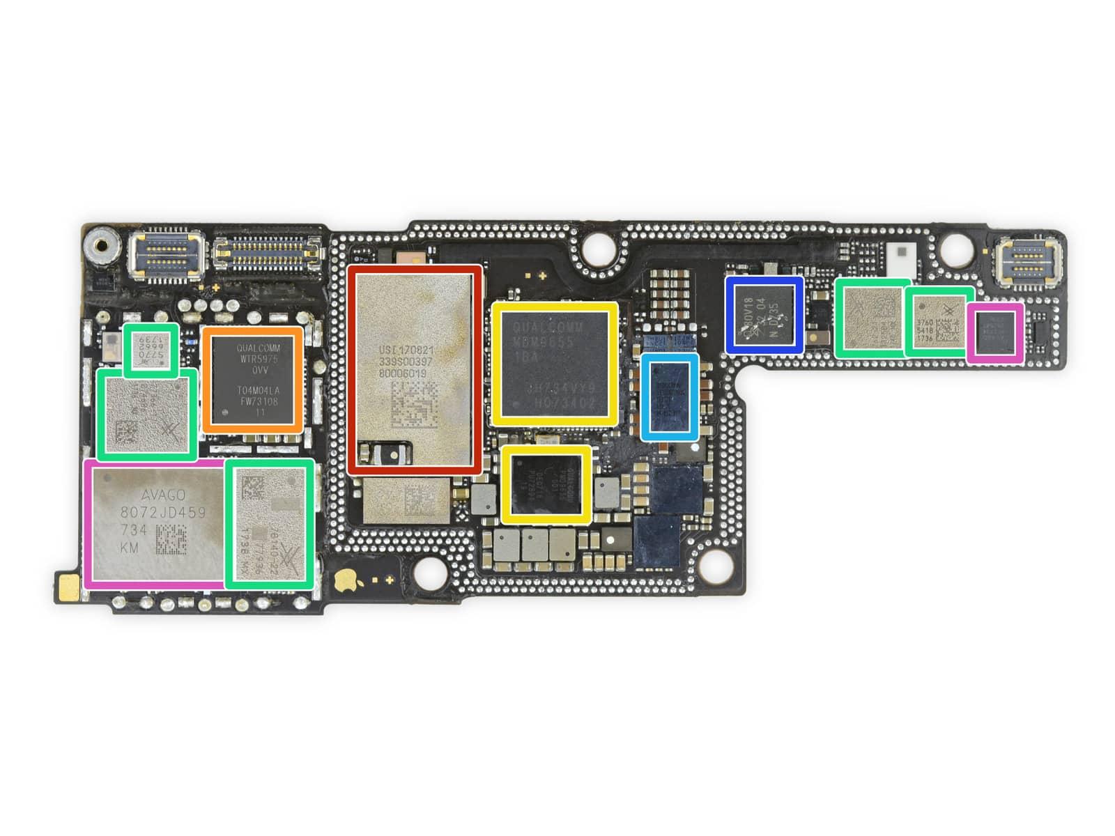iPhone X rozebrany na czesci przez iFixit 3