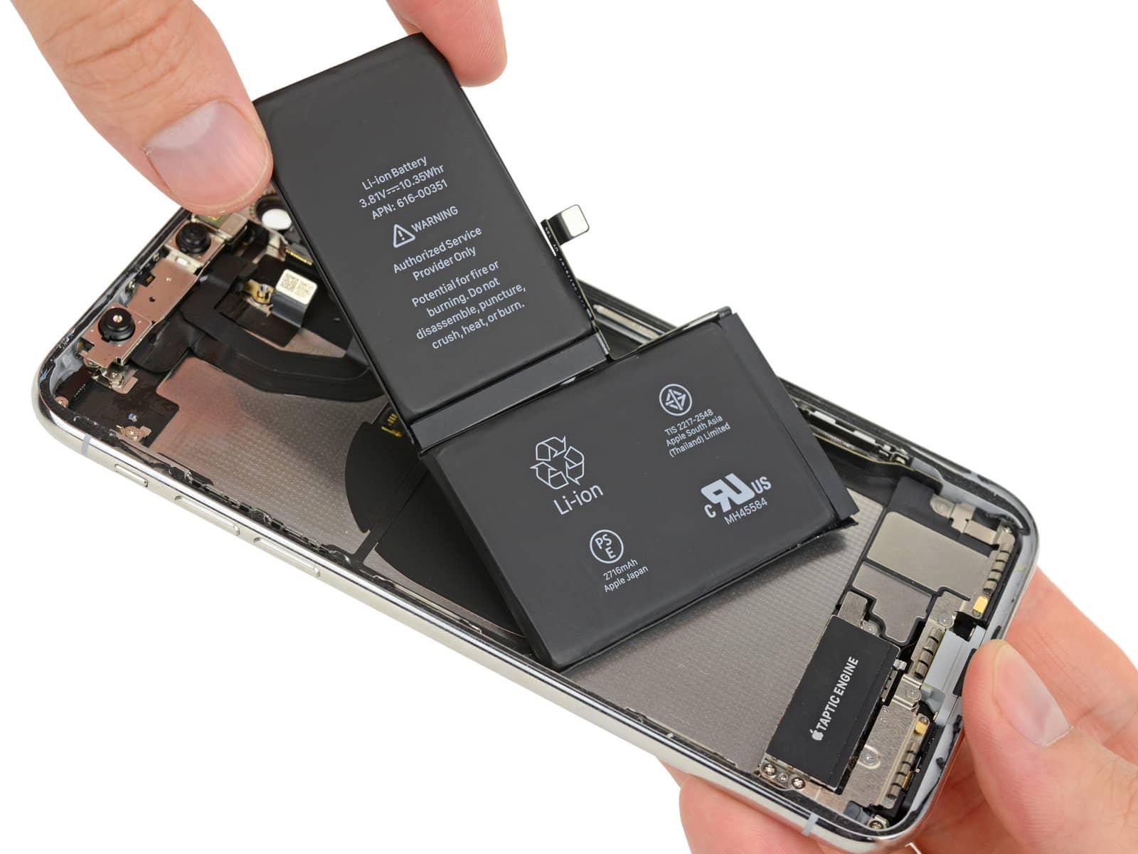 iPhone X rozebrany na czesci przez iFixit 4