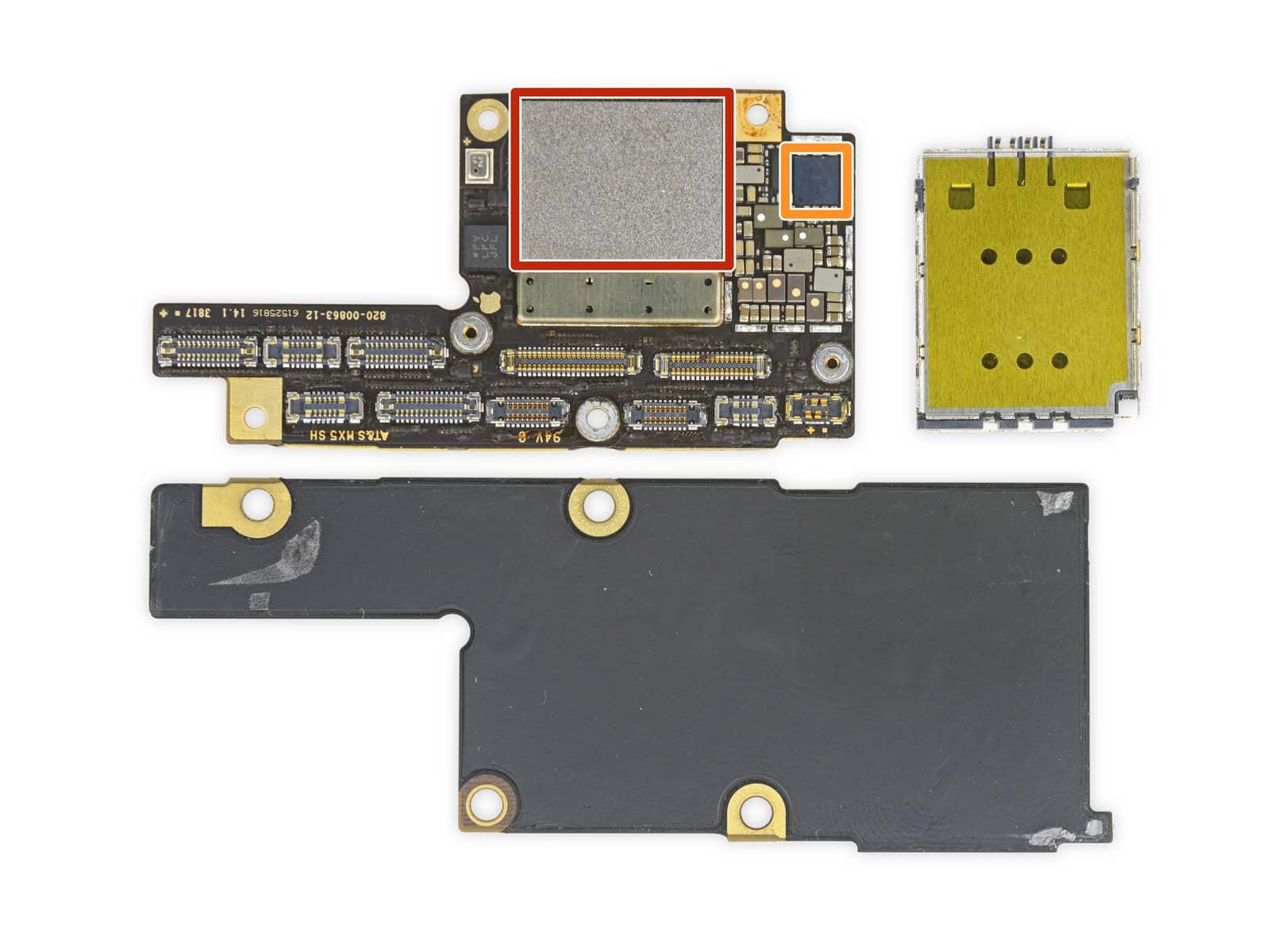 iPhone X rozebrany na czesci przez iFixit 5